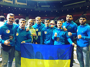 National team of Ukraine at MMA Championship