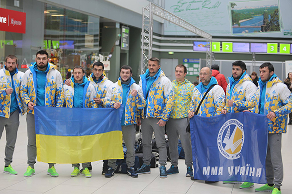 National team of Ukraine at MMA Championship. Photo-9.
