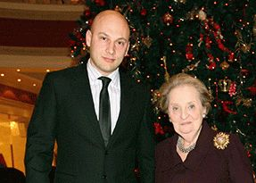 Personal safety and maintenance of USA Secretary - Madeleine Albright, during a visit to Ukraine